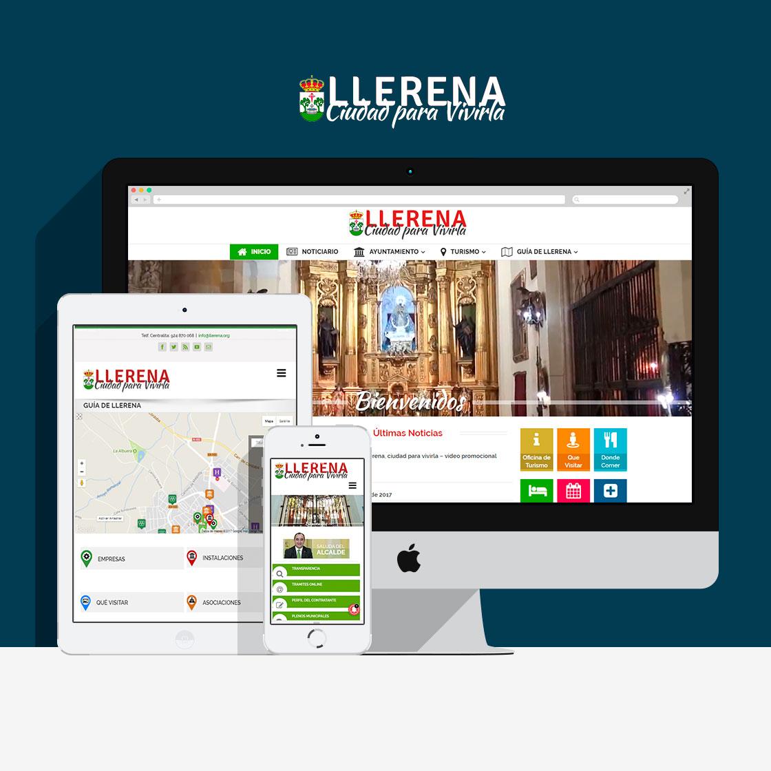 Portal Web del Ayuntamiento de Llerena