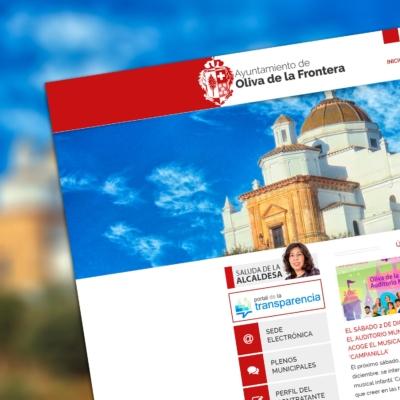 Portal Web del Ayuntamiento de Oliva de la Frontera