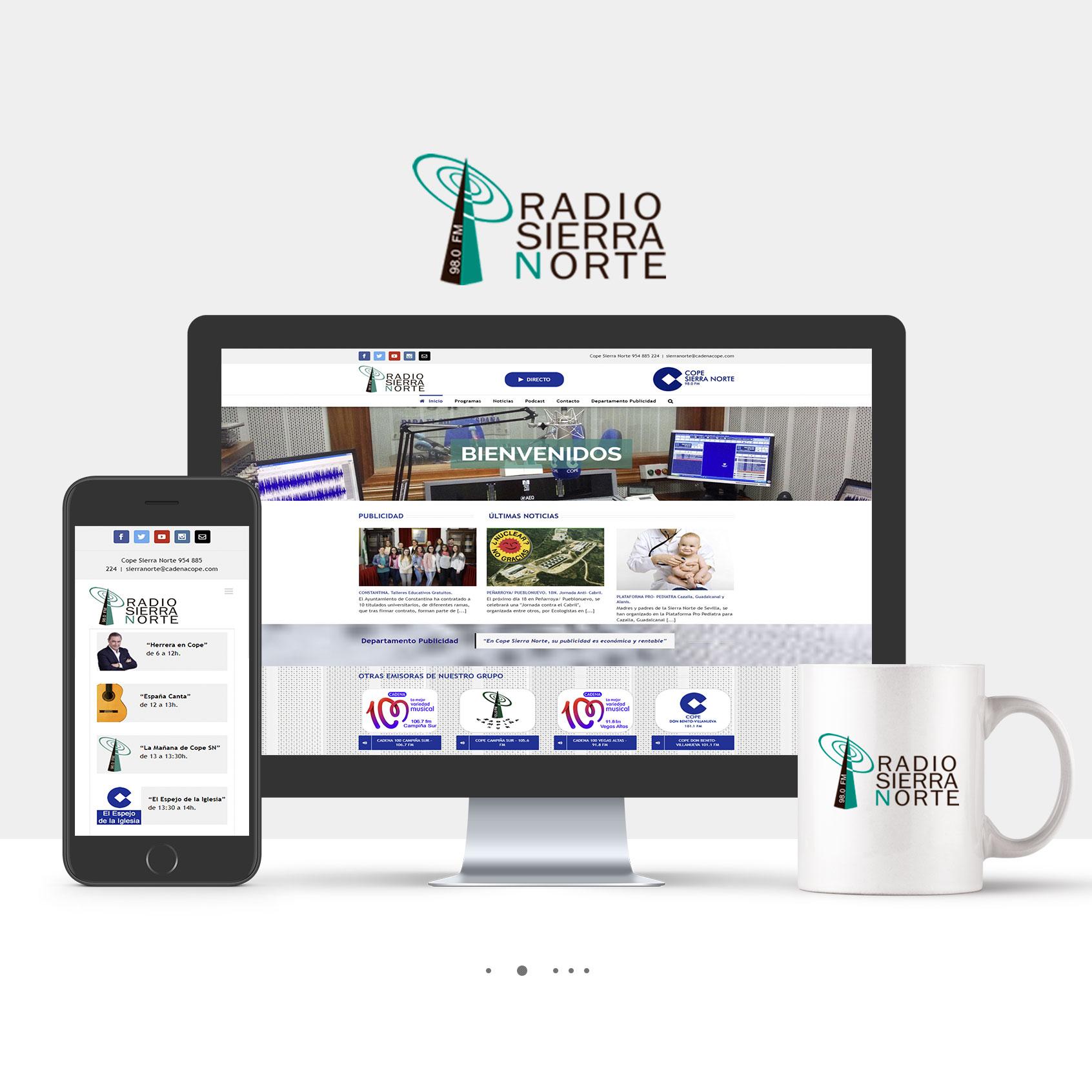 Diseño Web Radio Sierra Norte