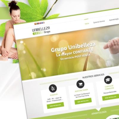 Diseño Web Unibelleza