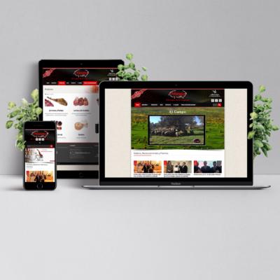 Diseño Web Embutidos MORATO