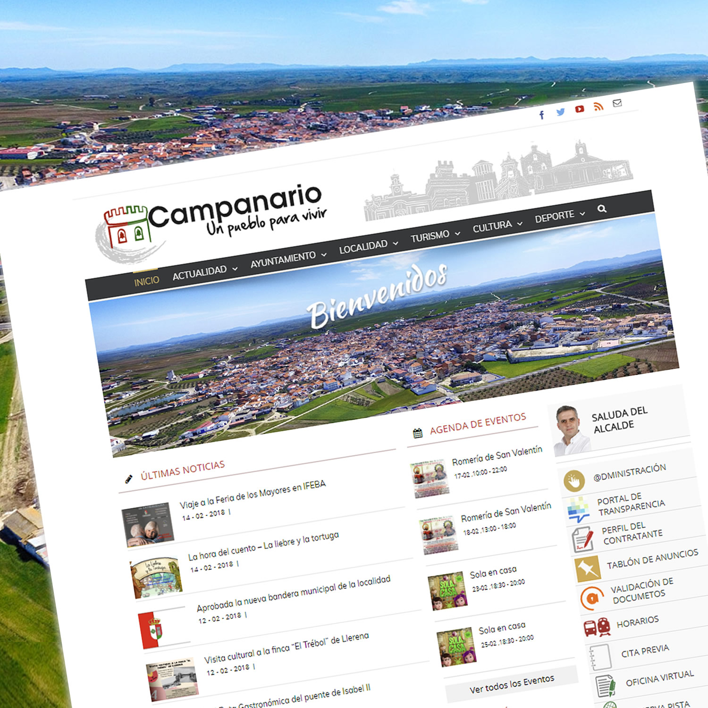 Portal Web del Ayuntamiento de Campanario