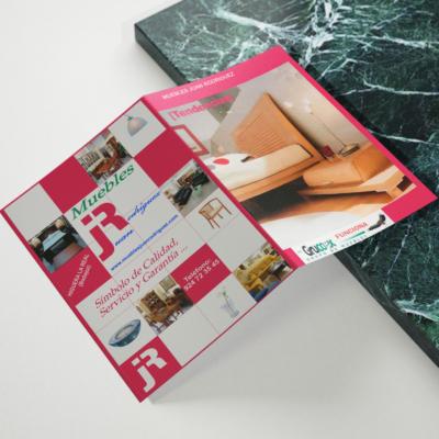 Diseño catálogo de muebles