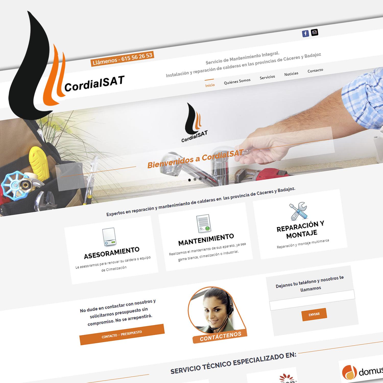 Diseño Web - CordialSAT