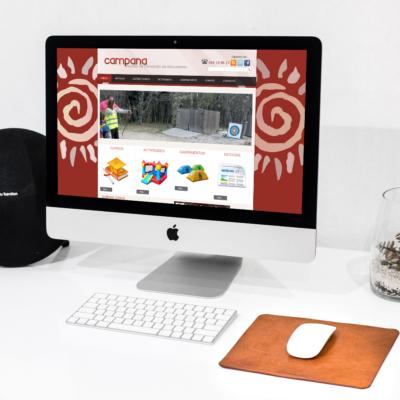 Diseño Web Escuela de formación CAMPANA