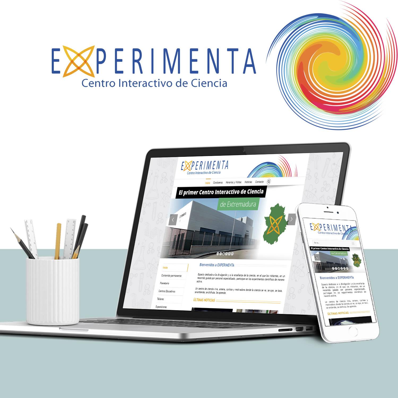 DISEÑO WEB EXPERIMENTA CENTRO INTERACTIVO DE CIENCIA