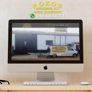 DISEÑO WEB POZOS Y SONDEOS AGUAMAR