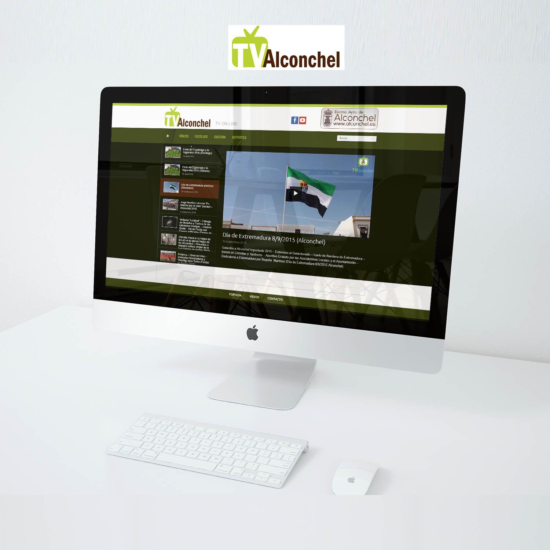 DISEÑO WEB TV ALCONCHEL