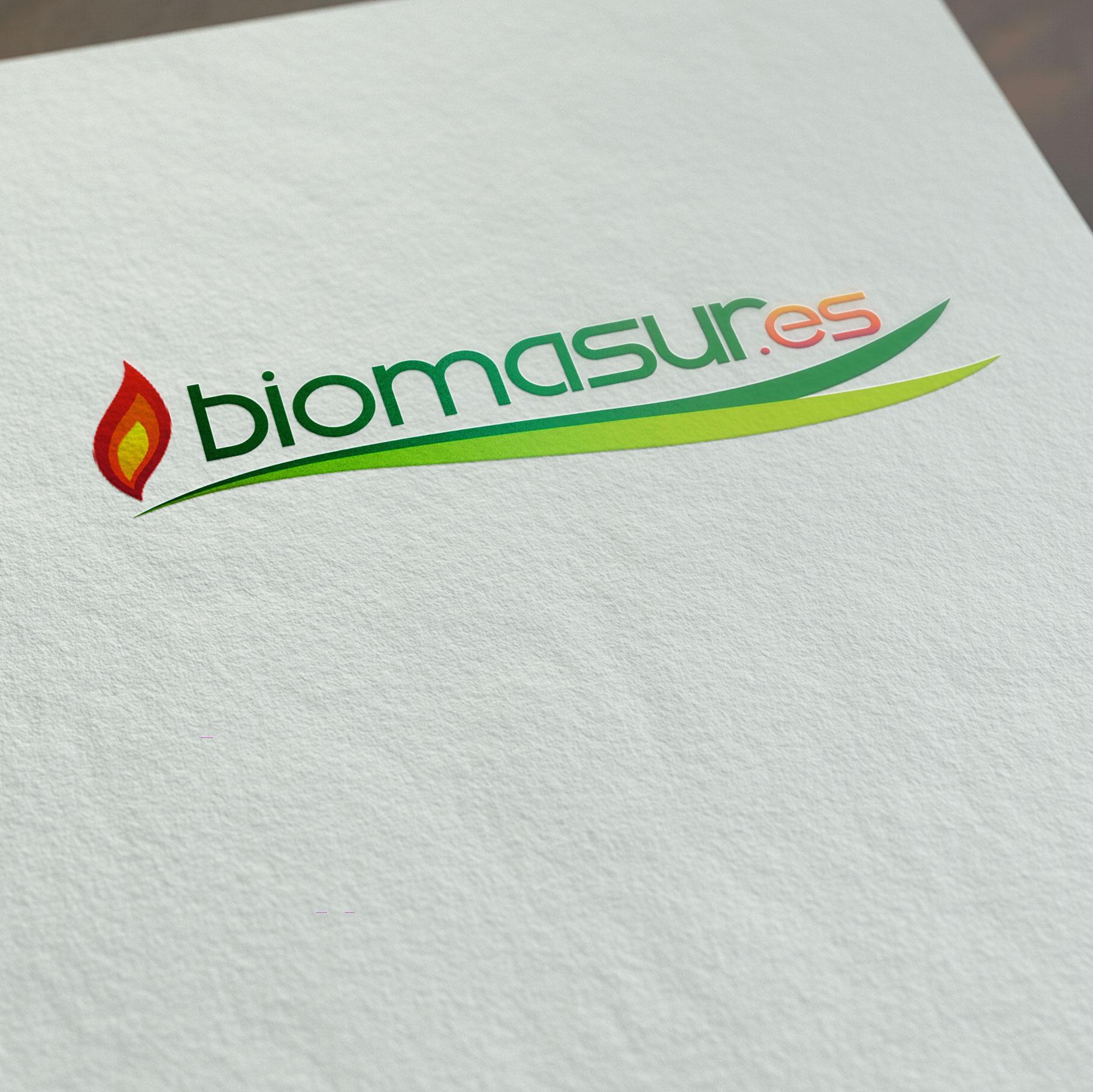 Logotipo para la empresa BIOMASUR