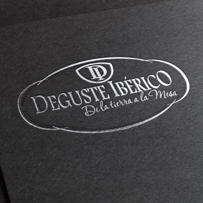 Diseño de logotipo Deguste Ibérico
