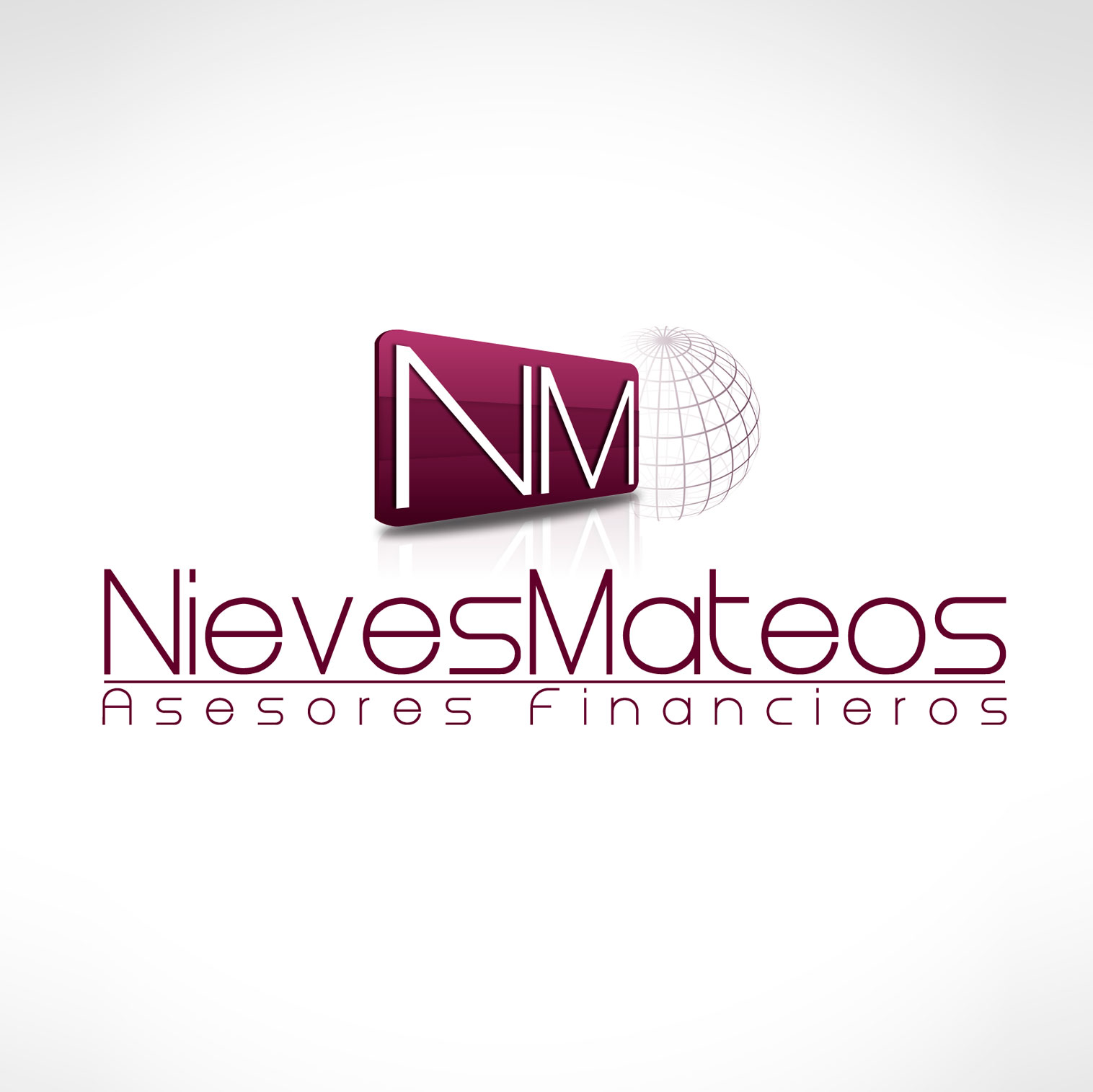 logotipo de Nieves Mateos - Asesores Financieros