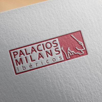 Diseño de logotipo Ibéricos Palacios Milans