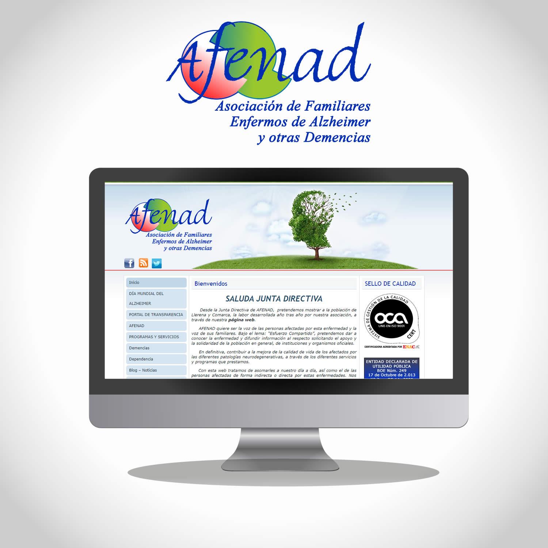 Diseño Web de AFENAD