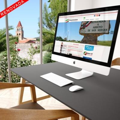 Diseño Web Ayuntamiento de Arroyo de San Serván