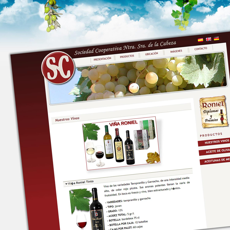 Diseño web FUENTERONIEL