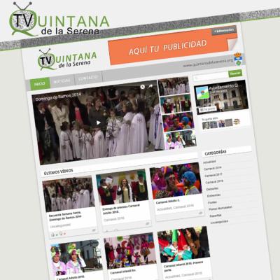 DISEÑO WEB TV-QUINTANA