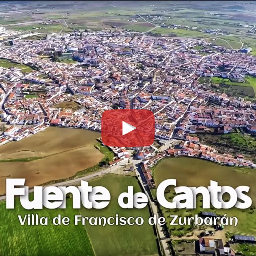 Fuente de Cantos Villa de Francisco de Zurbarán