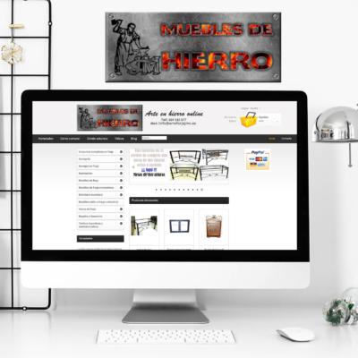 Diseño Web Empresa Muebles de Hierro JMC