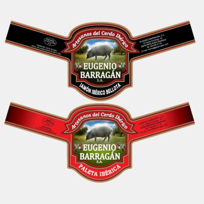 Diseño Etiquetas Productos Eugenio Barragán