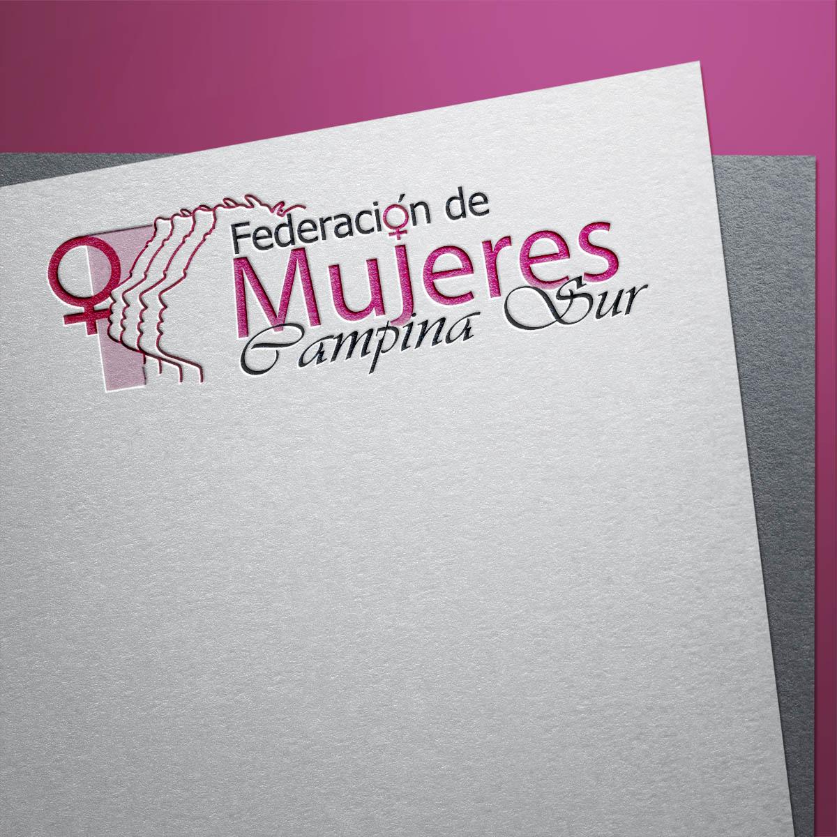 Diseño Logotipo Federación de Mujeres Campiña Sur