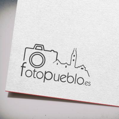 Diseño Logotipo fotopueblo