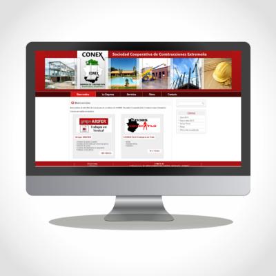Diseño Web Empresa CONEXSC