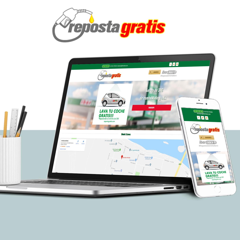Diseño Web Empresa Iberdoex REPOSTAGRATIS