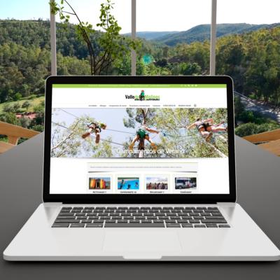 Diseño Web Empresa Valle de los Molinos