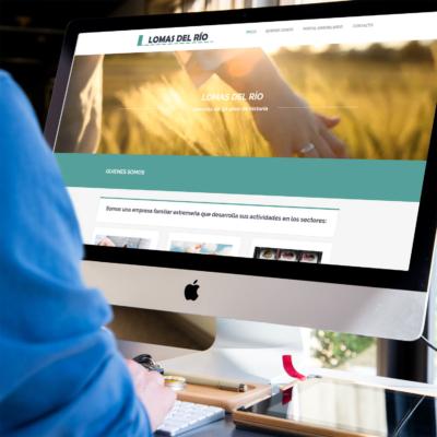 Diseño Web Empresa Lomas del Río