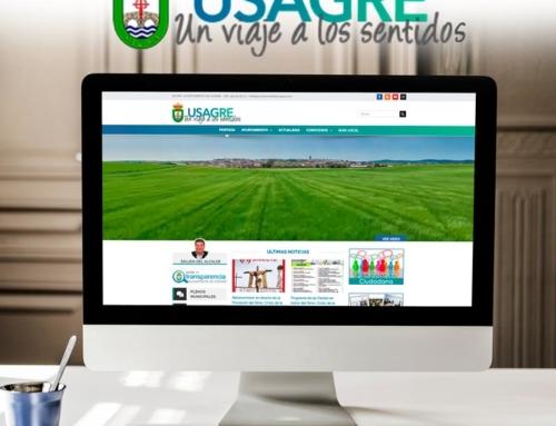 Diseño web Ayuntamiento de Usagre