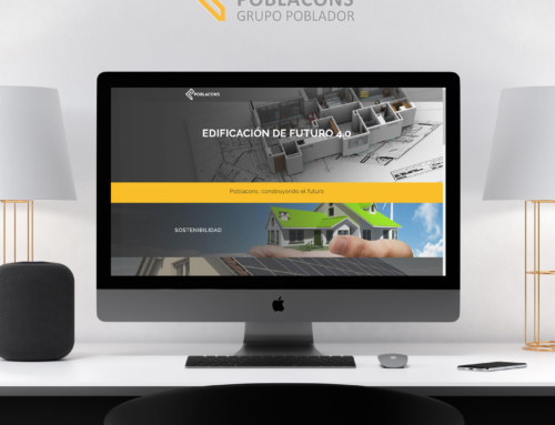 Diseño web empresa POBLACONS