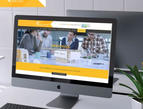 Diseño Web Empresa Grupo Poblador