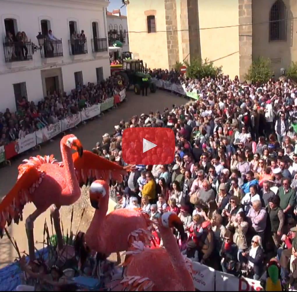 Desfile carrozas y carruajes Romería de Piedraescrita - Campanario