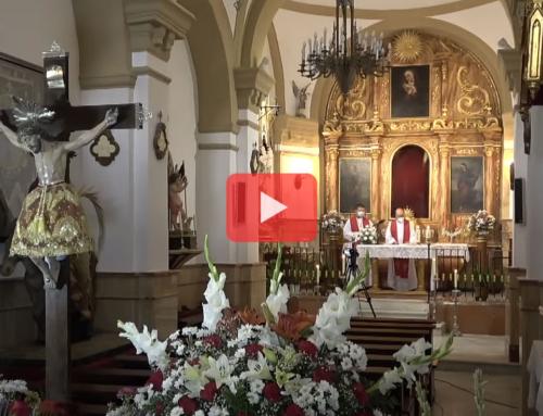 Misa solemne en honor al Santísimo Cristo de la Sangre. Ahillones